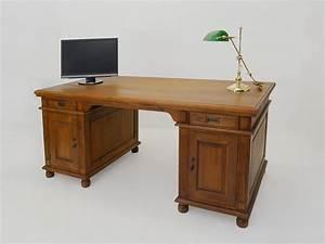 Schreibtisch Zwei Personen : schreibtisch b rom bel partnerdesk massivholz im nussbaum farbton 4316 ~ Markanthonyermac.com Haus und Dekorationen