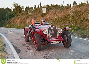 vintage alfa romeo race cars old racing car alfa romeo 6c 2500 1934 editorial image