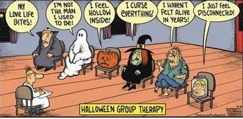 Sexy Halloween Meme - mystery fanfare cartoon of the day halloween group therapy