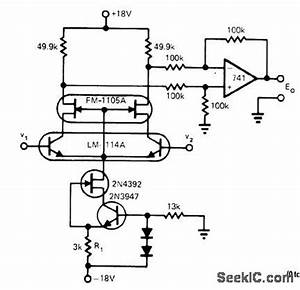 differential cascode amplifier circuit circuit diagram With jfet bipolar cascode circuit diagram
