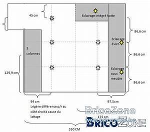 Spot Led Encastrable Plafond Faible Hauteur : distance entre spots led dans ma petite cuisine ~ Edinachiropracticcenter.com Idées de Décoration