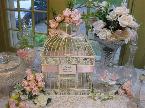 Decorating Bird Cages For Wedding