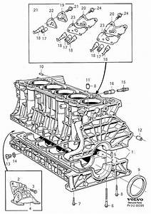 Volvo C70 Flange Screw  Block  Engine  Cylinder
