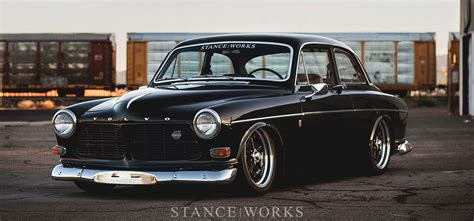 age keith rosss  volvo amazon stanceworks