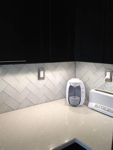 frosted white glass subway tile subway tile backsplash