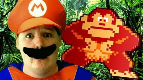 Donkey Kong In Real Life Youtube
