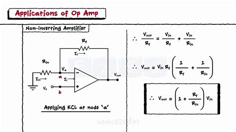 Operational Amplifiers Block Diagram Inverting Non
