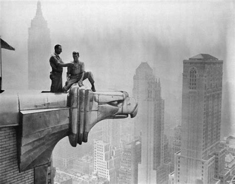 bw   nyc construction workers  pics