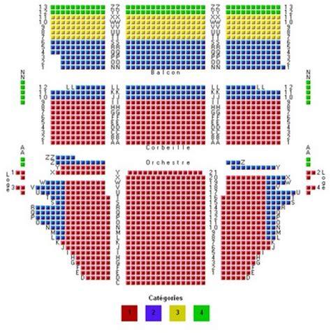 plan salle theatre mogador plan de salle