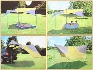 Sonnensegel Mit Stangen : sonnensegel sonnenschutz mit gestell pavillion 4 5x4 5m ebay ~ Frokenaadalensverden.com Haus und Dekorationen