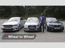 BMW 2 Series Coupe vs MercedesBenz CLA vs Audi A3 Saloon