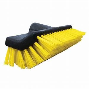 Unger 10 In Waterflow Bi Level Deck Scrub Brush 964820