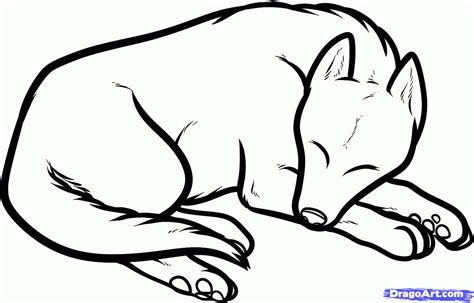 draw  sleeping dog sleeping dog step  step