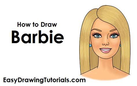 draw barbie