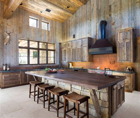 images rustic kitchens 15 rustic kitchen islands perfect for any kitchen
