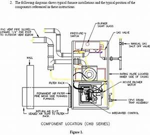 Furnace Diagrams Diagram Site  Forced Air Natural Gas Furnace