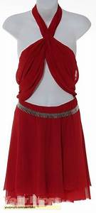 """Battlestar Galactica Number Six Red Crepe Dress from """"The ..."""