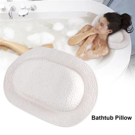 colors bathroom supplies bathtub pillow headrest waterproof pvc bath pillows  suction cups