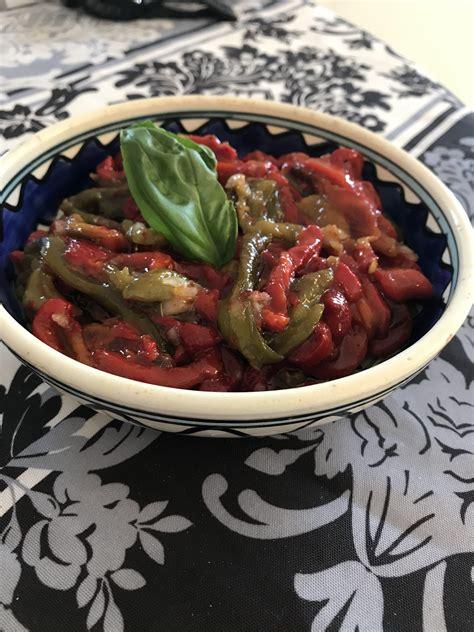 poivron cuisine poivrons a l huile d olive la cuisine de noam