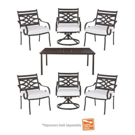 hton bay middletown 7 patio dining set with