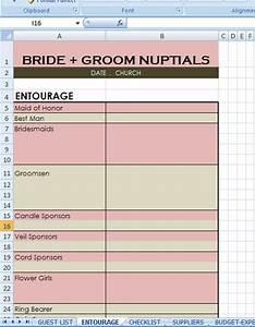 Wedding Checklist Excel