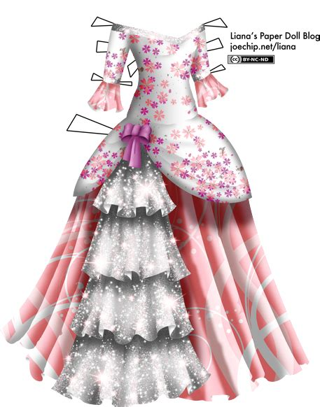 masquerade gown  cherry blossom bodice pink skirt