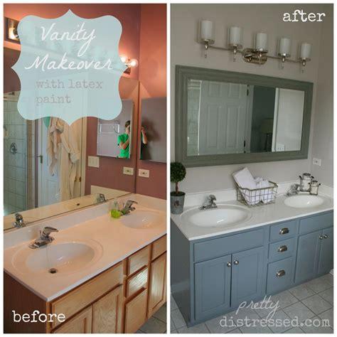 bathroom vanity paint ideas it 39 s a bathroom makeover on a budget muscari of