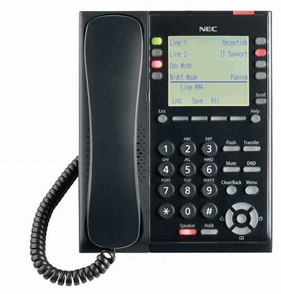 Telephone Phone Nec Systems Sl2100 Clipart Office