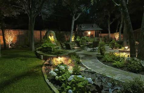 landscape lighting repair installation design fort worth tx