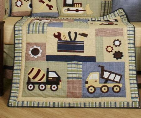 baby construction nursery themes  bedding sets
