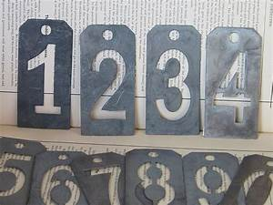 metal number stencils home items pinterest With metal letter and number stencils