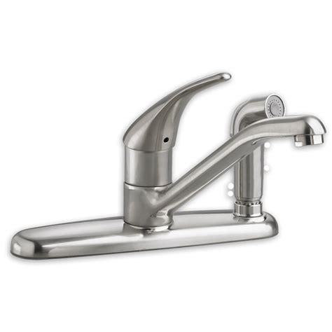 elkay kitchen faucet standard colony 1 handle kitchen faucet with