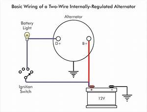 Alternator Wiring Diagram Internal Regulator