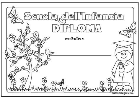 disegni per bambini asilo diploma scuola infanzia per bambini tuttodisegni