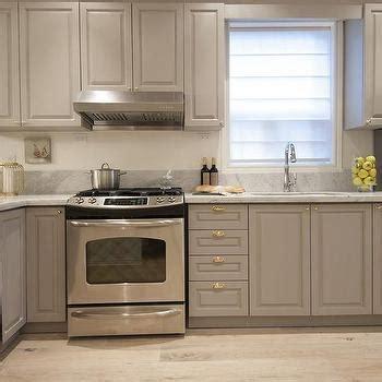 Gray Raised Panel Kitchen Cabinets Design Ideas