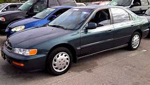 1996 Honda Accord Lx Start Up  Quick Tour  Rev