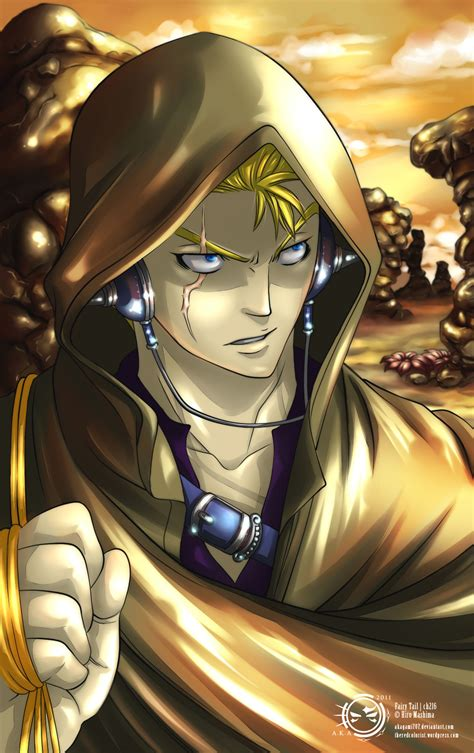 laxus dreyar fairy tail daily anime art