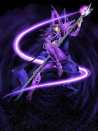 Magician Dark Yu Gi Oh Yugioh Anime