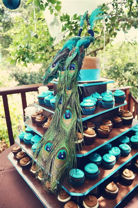 Theme Wedding Peacock Or Not Peacock? Weddingdashcom