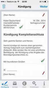 Kabel Deutschland Mobile Rechnung : kabel deutschland au erordentliche k ndigung vorlage k ndigung vorlage ~ Themetempest.com Abrechnung