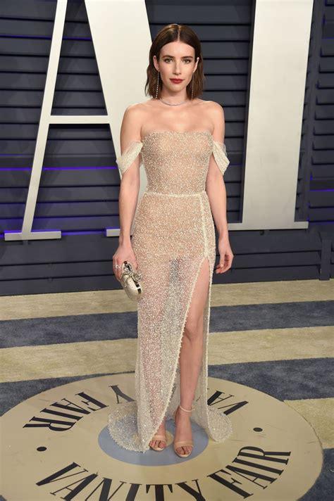 Emma Roberts Vanity Fair Oscar Party