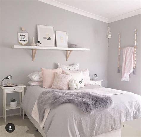 grey white pink room home designing