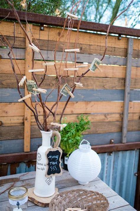 handmade rustic arizona wedding wedding gift money