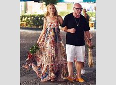Kylie Minogue dazzles in intricate floral maxi dress with