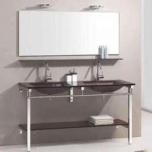 Meuble Salle De Bain Marron : cat gorie lavabo et vasque du guide et comparateur d 39 achat ~ Melissatoandfro.com Idées de Décoration