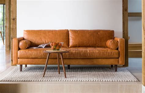 Apartment Therapy Leather Sofa by Shopping Guide To The Best Modern Leather Sofas