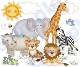 Zebra Nursery Bedding by Jungle Zoo Animals Wall Mural Decal Baby Nursery Kids Room