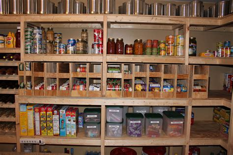 Basement Pantry Ideas Walk In Basement Pantry Farm