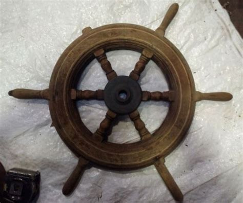 Old Boat Steering Wheel For Sale by Vintage Boat Steering For Sale Classifieds