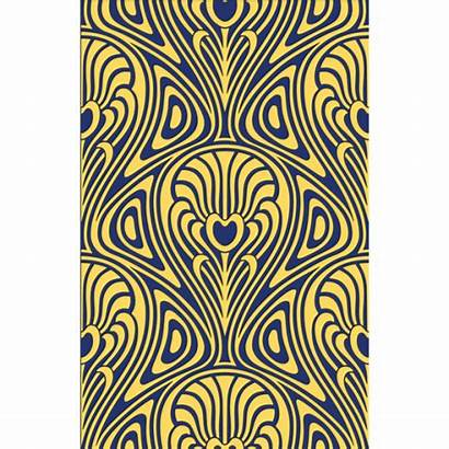 Nouveau Pattern Patterns Repeating Vector Deco Graphics
